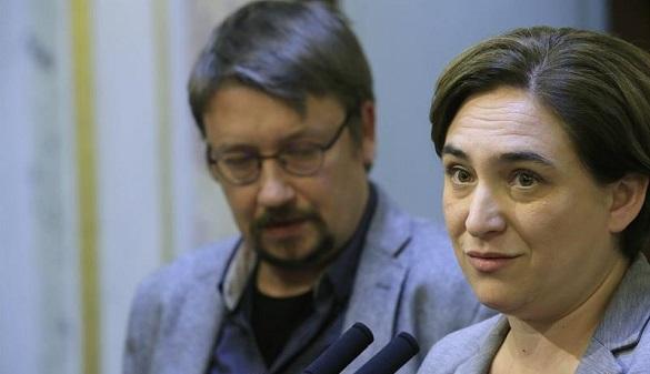 El partido de Colau descarta unirse a la lista separatista del 21D