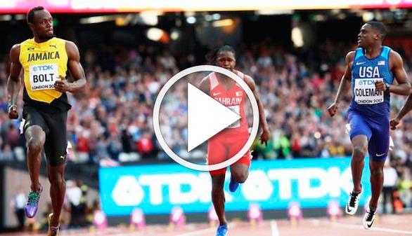 Coleman, récord en los 60 metros listos, grita ser el herdero de Usain Bolt