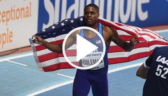 Mundiales de atletismo. Coleman confirma ser el herdero de Bolt y Dibaba resplandece