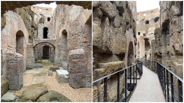 El Coliseo abre por primera vez al público sus galerías subterráneas