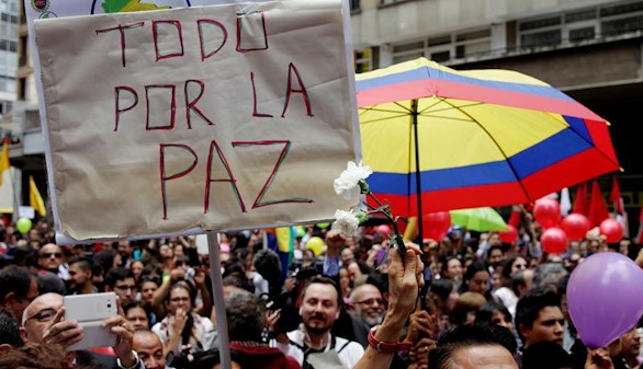Colombia recupera la paz 52 años después