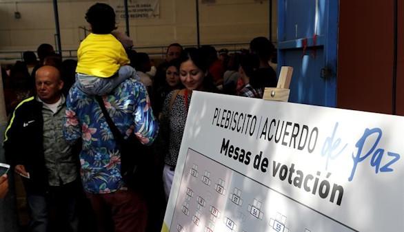 Colombia vota este domingo sí o no al acuerdo de paz