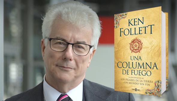 Ken Follet publica en septiembre la tercera parte de Los pilares de la tierra