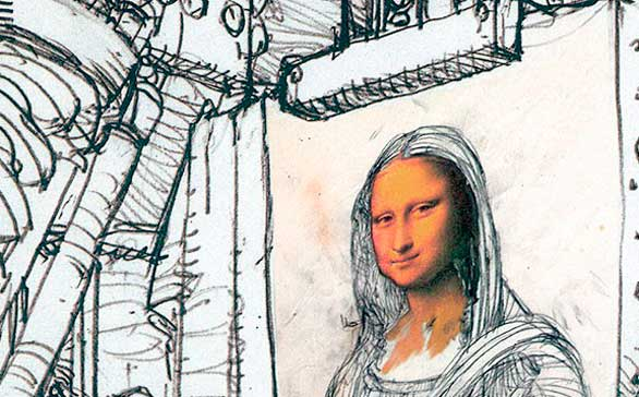 La pasión del cómic por la historia de la pintura, en una exposición