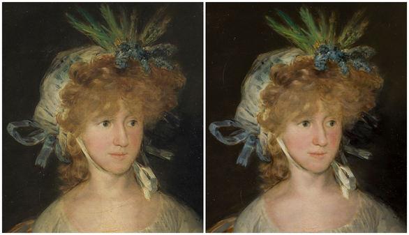 El Museo del Prado restaura La condensa de Chinchón, de Goya