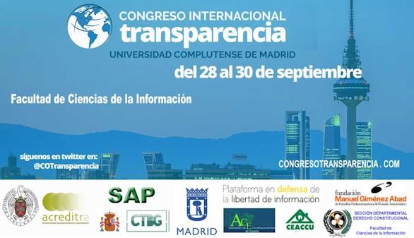 La UCM celebra el I Congreso Internacional de Transparencia