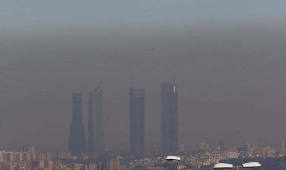 Madrid limitará el tráfico ante episodios de alta contaminación