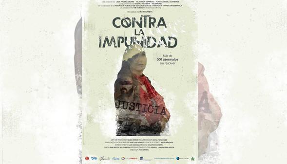 Estreno en televisión del documental Contra la impunidad