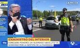 Susto en Antena 3: le salta el desfibrilador a Corcuera en pleno directo