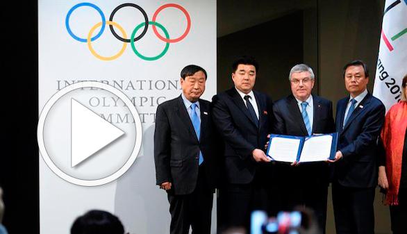 JJ.OO. de inviero. Oficial: Corea del sur abre la puerta a atletas norcoreanos