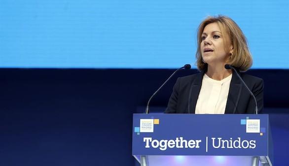 Cospedal: el proyecto europeo no se tambalea a pesar del populismo