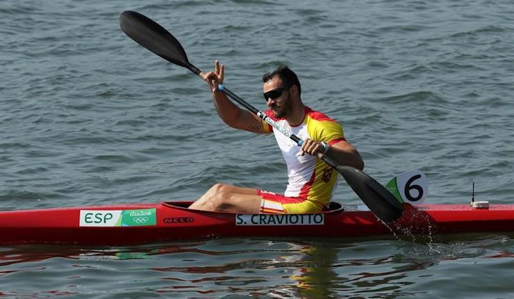 Saúl Craviotto logra el bronce en el K1 200