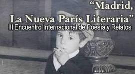 Recital de poesía y relatos 'Madrid, La Nueva París Literaria'