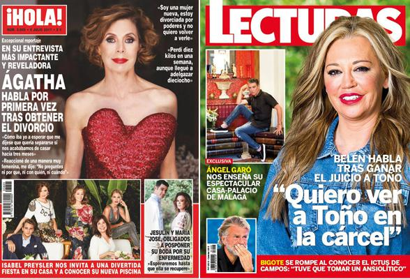 Crónica rosa. La impactante entrevista de Ágatha Ruiz de la Prada eclipsa a Belén Esteban