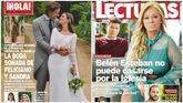 La boda de Feliciano y Sandra Gago, y el regreso de Fran Álvarez, ex de Belén Esteban
