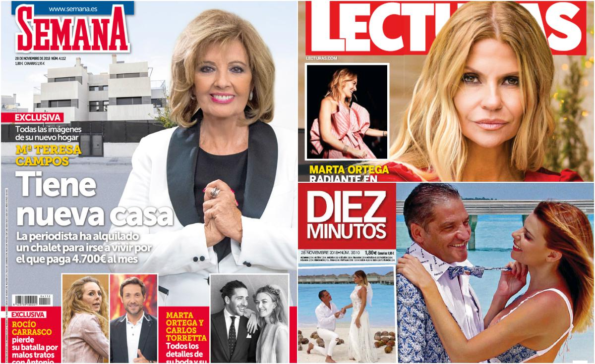 María Teresa Campos cambia su mansión por un chalé de 4.700 euros al mes