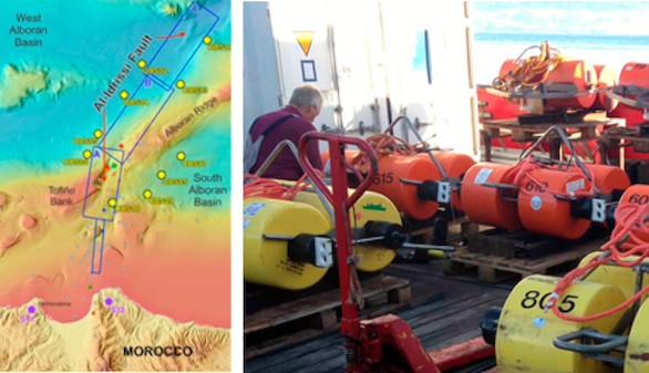 Científicos del CSIC monitorizan la falla de Al-Idrissi, causante del mayor terremoto en el Mar de Alborán