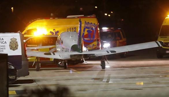 Dos fallecidos al estrellarse una avioneta en Cuatro Vientos