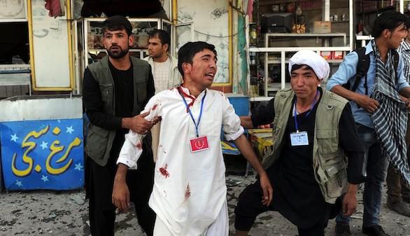 Daesh golpea en Afganistán: 80 muertos en Kabul