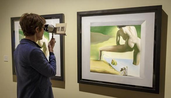 La tecnología pone al día las pinturas estereoscópicas de Dalí