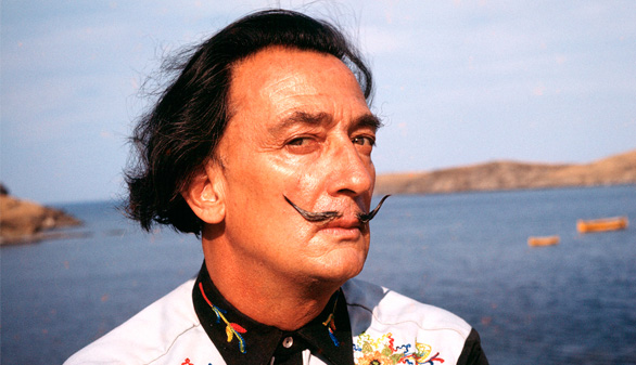 Dalí, en once fotografías inéditas
