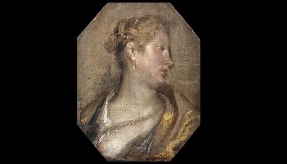 Dama de perfil, una obra inédita de Velázquez ahora expuesta en Valencia
