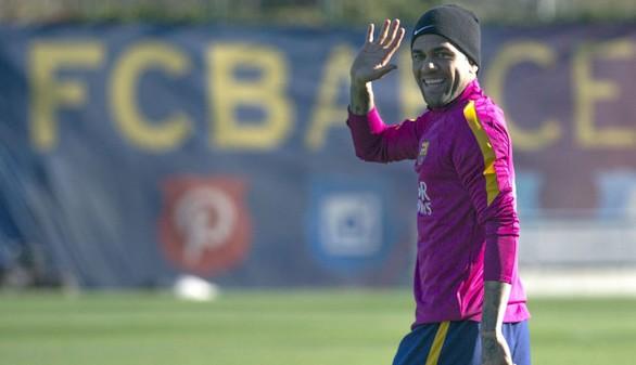 El Barça anuncia el adiós de Alves
