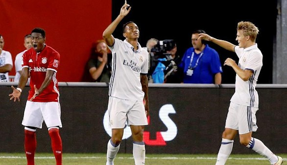 Danilo sella la última victoria del Madrid en EEUU