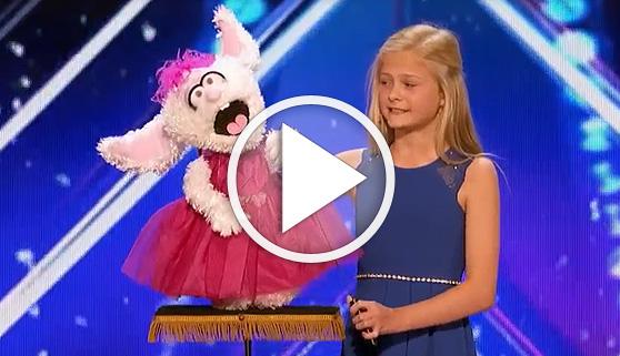 Vídeos virales. Ventrílocua de 12 años sorprende a jueces y audiencia