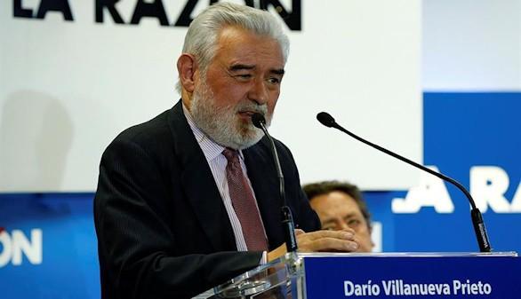 Darío Villanueva celebra la creciente