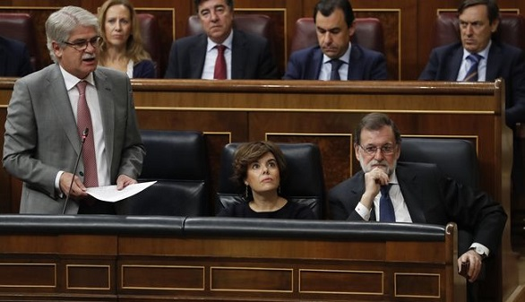 Dastis, a la BBC y sobre Cataluña: enmendaría la Constitución