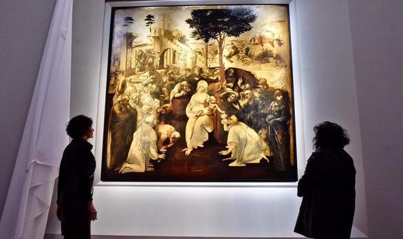 La Galería de los Uffizi salva La Adoración de los Magos de Leonardo da Vinci