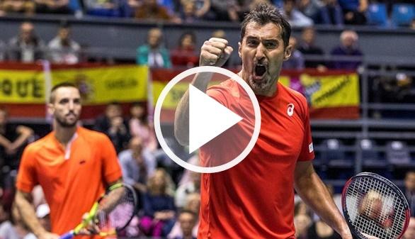 Copa Davis. Carreño y López dieron la cara pero Serbia eliminó a España | 3-0