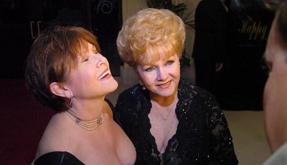 La actriz Debbie Reynolds, madre de Carrie Fisher, muere preparando su adiós