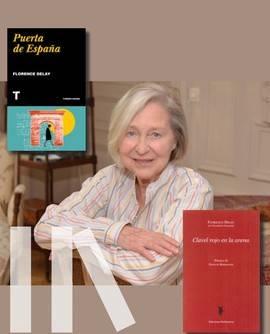 Florence Delay visita Madrid para presentar tres de sus libros
