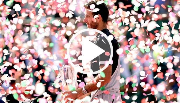 Indian Wells. Del Potro sorprende a Federer y se proclama campeón