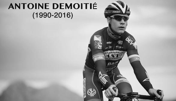 Fallece el ciclista Demoitié tras ser atropellado por una moto en plena carrera