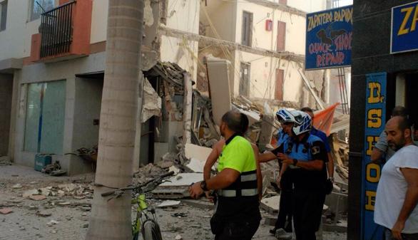 Localizado un segundo cadáver en el derrumbe de Tenerife