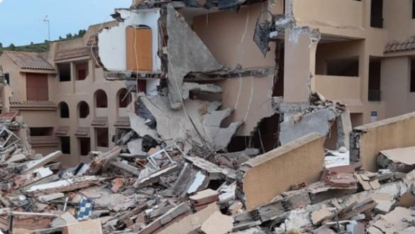Localizan muerta a la mujer desaparecida entre los escombros del derrumbe de Peñíscola