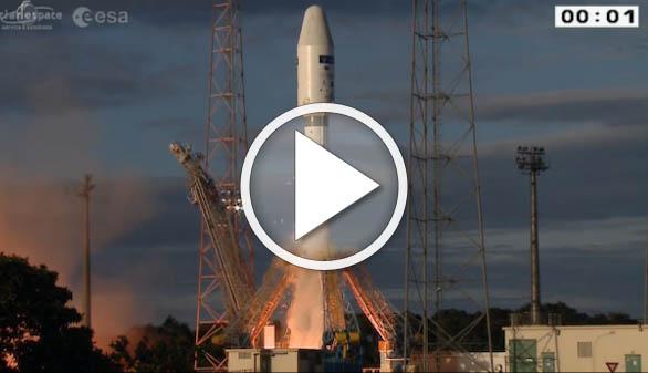 Despega Sentinel-1B: más vigilancia del medio ambiente desde el espacio