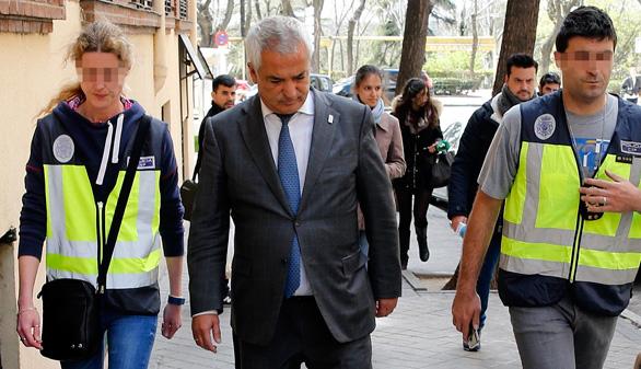 Los dirigentes de Manos Limpias y Ausbanc declaran este lunes