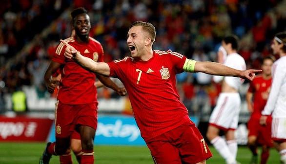 España arrebata el liderato a Croacia en la fase de clasificación para el Europeo sub-21 | 2-3