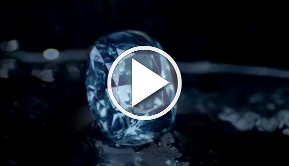 A subasta uno de los diamantes azules más grandes que se conocen