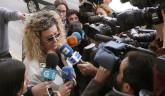 La madre de Diana Quer a su llegada al juzgado de Ribeira, en La Coruña