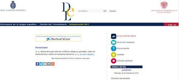 'Buenismo', 'postureo' y 'posverdad' se incorporan al Diccionario de la RAE