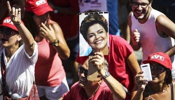 Brasileños a favor y en contra de Rousseff 'toman' las calles