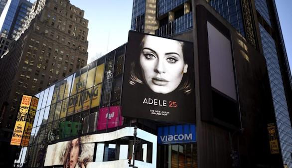 El éxito de Adele,