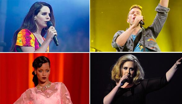 Los nuevos discos del otoño: Adele, Rihanna, Coldplay y Lana del Rey
