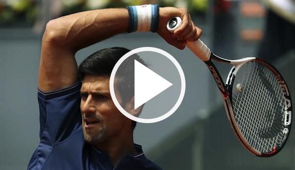 Masters de Madrid. Nadal y Djokovic escapan de un complicado debut