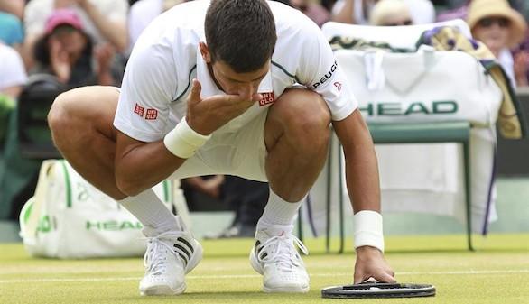 Wimbledon: Djokovic vence en dos días a Anderson y Muguruza llega a semfinales